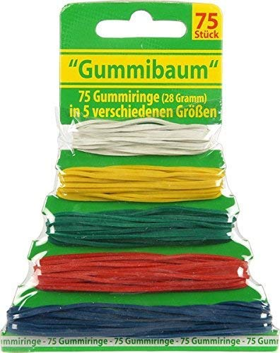 75 Gummis Gummiringe Haushaltsgummis...