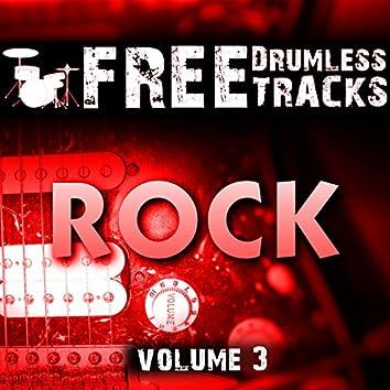 Free Drumless Tracks: Rock, Vol. 3
