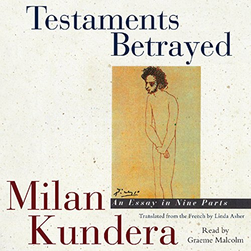 Testaments Betrayed audiobook cover art