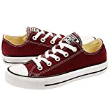 Converse Unisex Chuck Taylor All Star Ox Low Top Classic Sneakers 8.5 men/10.5 Women Burgundy