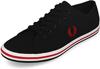 Fred Perry B7259, Men's Sneakers, Black, 43 EU