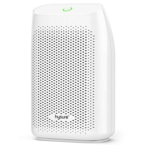 hysure Dehumidifier,700ml Compact Deshumidificador 1200 Cubic Feet(215 sq ft) Quiet Room Dehumidifier, Portable Dehumidifier…