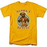 Photo de Power Rangers - - Alpha 5 T-shirt pour hommes, XX-Large, Gold par