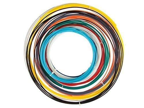 Velleman ABS175SET Abs Filament for 3D Printer, 1 Grade to 12 Grade, Assortment, 175 mm Diameter, 10 Colors