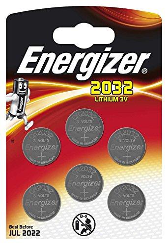 Energizer cr2032 piles bouton au lithium 3 V batterie – (lot de 6)