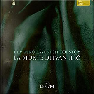 La morte di Ivan Il'ič audiobook cover art