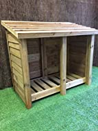 The Gidleigh Log Store Is 150cm Wide And Available In Heights From 4ft To 6ft and Depths From 60cm to 90cm CONSTRUCTED FROM 3 X 3 UPRIGHTS AND 50 X 100 TIMBERS TO FORM A HEAVY DUTY FRAME THE SLATED BASE IS RAISED OF THE FLOOR AND AIR GAPS ARE LEFT AT...