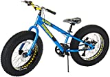 Mongoose Kong Fat Tire Mountain Bike for Kids and Children, Featuring...
