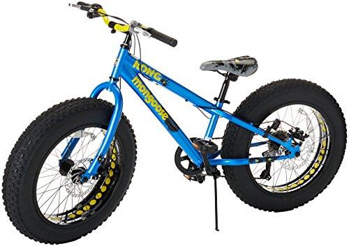 Mongoose Kong Fat Tire Mountain Bike for Kids