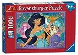 Ravensburger-10409 Princesa Ravensburger Disney Princess Jasmine, XXL 100 Piezas Rompecabezas, Multicolor (10409)