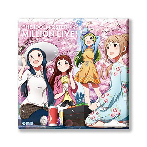 【M@STER SPARKLE 08】 アイドルマスター ミリオンライブ! トレーディングCDジャケット缶バッジ