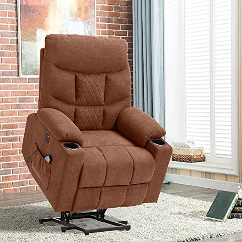 Top 10 Best power lift recliner with heat and massage Reviews