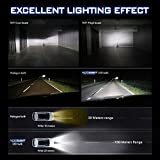 2018 novsight lampadina LED auto un paio 50 W 10000 Lumen H1 H4 H7 prese Fit per camion IP68 impermeabile garanzia 2 anni