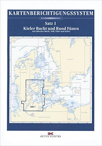 Berichtigung Sportbootkarten Satz 1: Kieler Bucht und Rund Fünen (Ausgabe 2020): Mit Lübecker Bucht, Nord-Ostsee-Kanal, Eider und Schlei