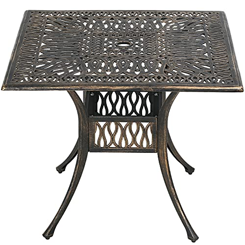 Patio Table Patio Dining Table Outdoor Dining Table Wrought Iron Patio Furniture Patio Furniture Outdoor Table Weather Resistant