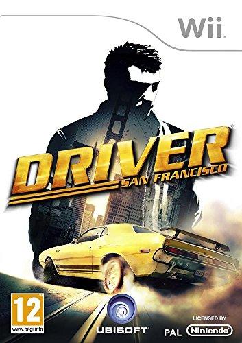 Ubisoft Driver: San Francisco, Wii Nintendo Wii Inglés vídeo - Juego (Wii, Nintendo Wii, Conducción, Modo multijugador, T (Teen))