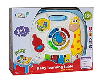 Learning Table Toy for Kids - Multi Color - 1089