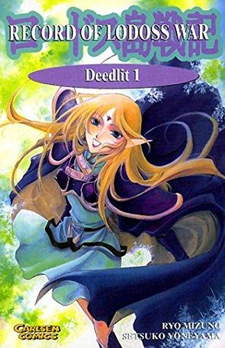 Record of Lodoss War. Deedlit 01.