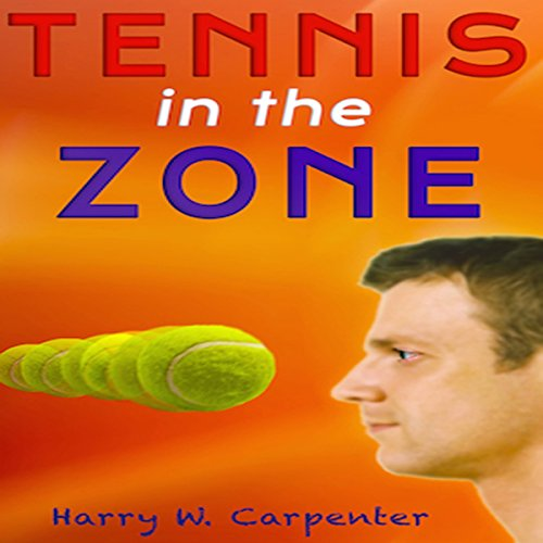 Tennis in the Zone audiobook cover art