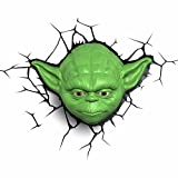 Disney Star Wars LED-Leuchte Yoda-Kopf, 3D