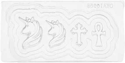 Occitop 3D Silicone Nail Art Template Acrylic Mold for Nail Art Decor DIY Design(3)