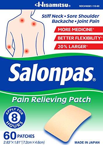 Salonpas Pain Relieving Patch - 120 Patches