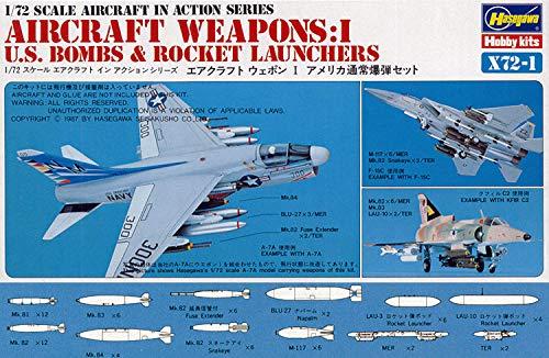 ハセガワ 1/72 アメリカ空軍 エアークラフト ウェポンI プラモデル X72-1
