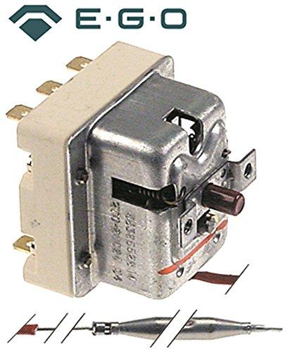 EGO Sicherheitsthermostat 55.32552.814 passend für Electrolux, Therma, Juno-Röder-Senking max. Temperatur 270°C 3-polig x 79mm