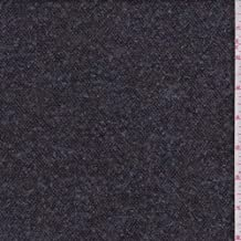 Pewter Grey/Black Tweed Suiting, Fabric by The Yard