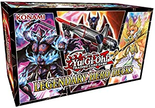 Yugioh Legendary Hero Decks Trading Card Game