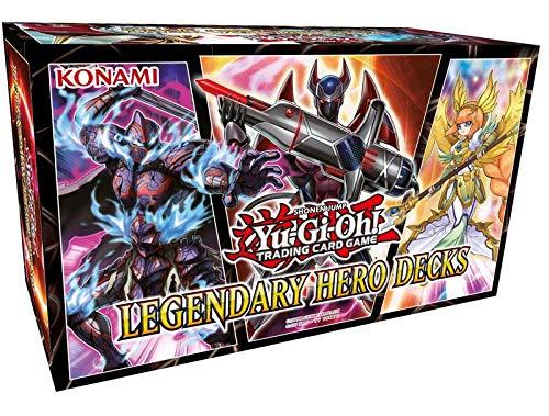Yugioh KONLEHD Yu-Gi-Oh-Legendary Hero Decks Englisch