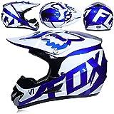 YXCXY Casque Crash Motocross Adulte pour Hommes Femmes, Moto DH Off-Road Casque VTT VTT BMX Downhill Dirt Bikes Casque de...
