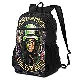 Alice Cooper Paquete de almacenamiento para hombre y mujer, ultraligera, plegable, para acampar, al aire libre, bicicleta, escuela