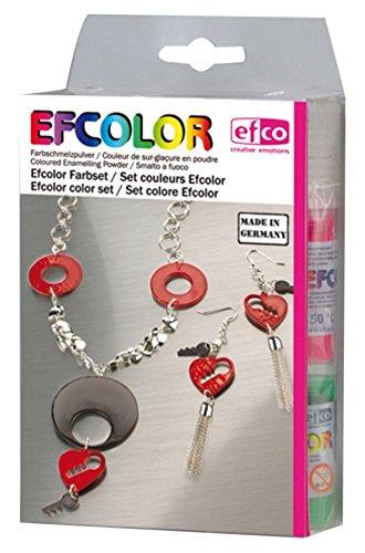 efco Farbset, Farbschmelzpulver, Mehrfarbig, 10 x 3.5 x 17 cm