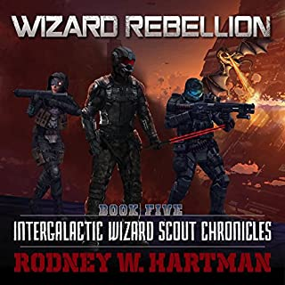 Wizard Rebellion audiobook cover art