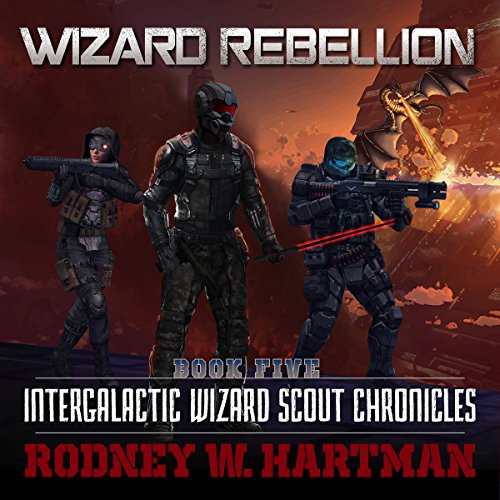 Wizard Rebellion audiobook cover art