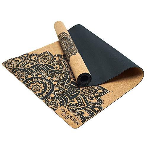 YOGA DESIGN LAB Cork Yoga Mat For Iyengar Yoga, Eco Luxury, Ideal for, Iyengar yoga, Hot Yoga, Power, Bikram, Ashtanga,...