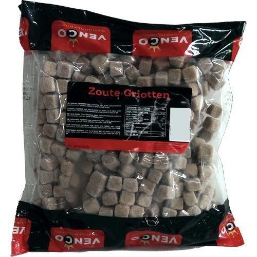 Venco Holland Lakritze 'Zoute Griotten' 1kg Packung (Salmiak-Würfel)
