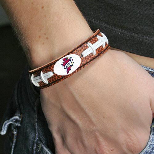 NCAA Iowa State Cyclones Classic Football Throwback Logo Bracelet, One Size, Team Color