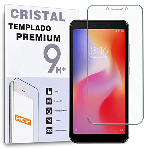 Protector de Pantalla para XIAOMI REDMI 6 - REDMI 6A, Cristal Vidrio Templado Premium