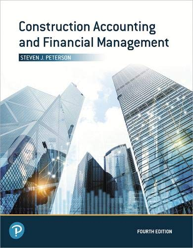 Construction Accounting and Financial Management (What's New in Trades & Technology)