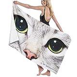 Jesse Tobias Toallas de baño Cat Kitten 32 'x51' Premium Towel Blanket Absorbencia súper Suave TWL-1551