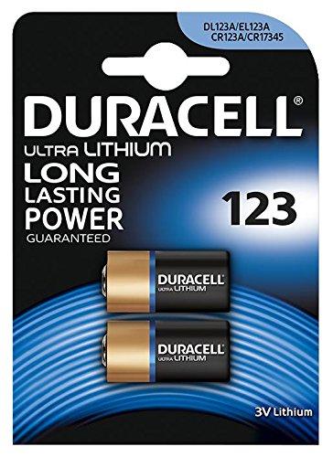 DURACELL 7035773 Ultra Lithium 123 Batterie 3V PK2
