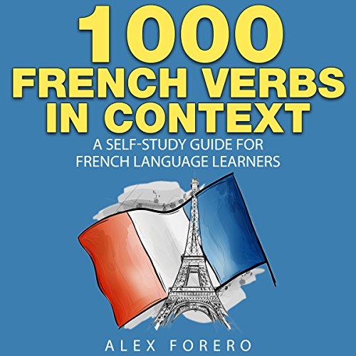 1000 French Verbs in Context audiobook cover art