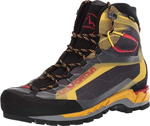 La Sportiva Trango TECH GTX Hiking Shoe, Black/Yellow, 43