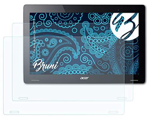 Bruni Schutzfolie kompatibel mit Acer Aspire Switch 12 S Folie, glasklare Bildschirmschutzfolie (2X)