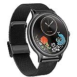 LTLJX Smartwatch Reloj Inteligente, Smart Watch Mujer Impermeable IP67 con Monitor de Sueño Pulsómetros Cronómetros Contador de Caloría, Pulsera de Actividad Inteligente con iOS y Android,Negro