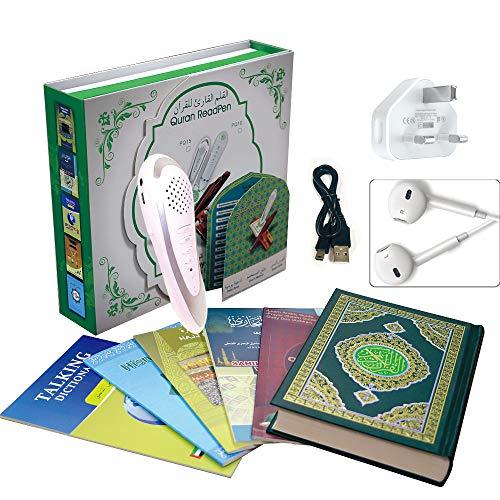 CG Holy Coran Lecteur de conversation numérique avec batterie rechargeable pour lecture du Coran avec livre électronique Reading pen PQ15-8GB