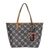Joop! Shopper Cortina Grande Lara aus Kunststoff Damen Handtasche mit Reißverschluss