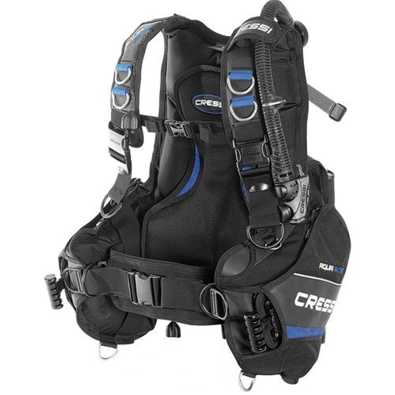 Cressi Aquaride Blue Pro Buoyancy Compensator Device Medium [並行輸入品]
